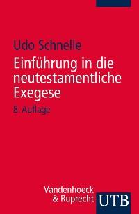Cover Einführung in die neutestamentliche Exegese