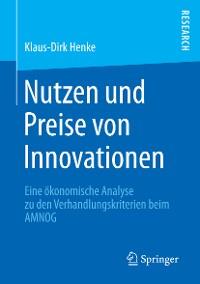 Cover Nutzen und Preise von Innovationen