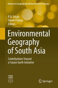 Cover Environmental Geography of South Asia