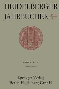 Cover Eichendorff in Heidelberg