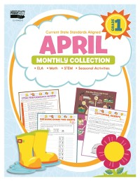 Cover April Monthly Collection, Grade 1