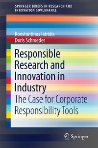 Cover Responsible Research and Innovation in Industry