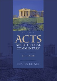 Cover Acts: An Exegetical Commentary : Volume 2