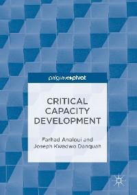Cover Critical Capacity Development