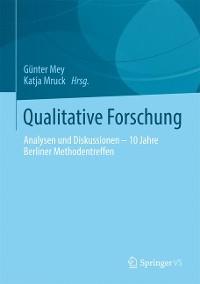 Cover Qualitative Forschung