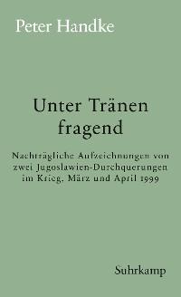 Cover Unter Tränen fragend