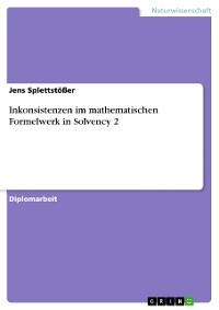 Cover Inkonsistenzen im mathematischen Formelwerk in Solvency 2