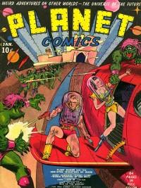 Cover Planet Comics #1