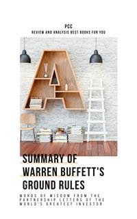 Cover Summary of Warren Buffett's Ground Rules