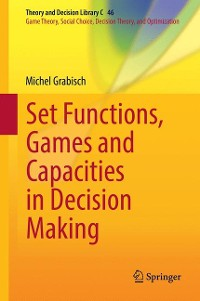 Cover Set Functions, Games and Capacities in Decision Making