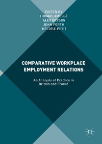 Cover Comparative Workplace Employment Relations