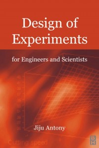 Cover Design of Experiments for Engineers and Scientists
