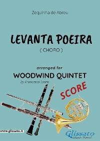 Cover Levanta Poeira - Woodwind Quintet SCORE