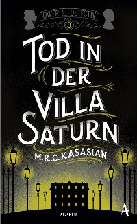 Cover Tod in der Villa Saturn