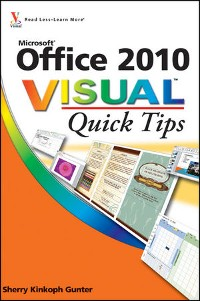 Cover Office 2010 Visual Quick Tips