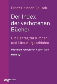 Cover Der Index der verbotenen Bücher. Bd.2/1