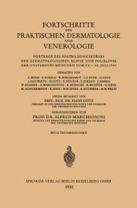 Cover Fortschritte der Praktischen Dermatologie und Venerologie