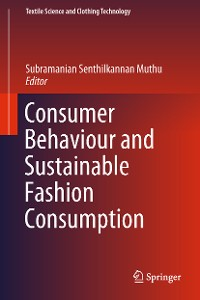 Cover Consumer Behaviour and Sustainable Fashion Consumption