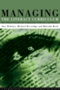Cover Managing the Literacy Curriculum