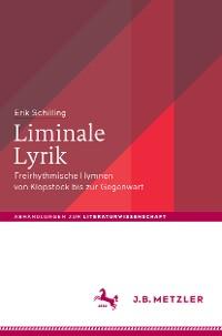 Cover Liminale Lyrik