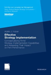 Cover Effective Strategy Implementation
