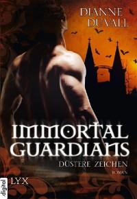 Cover Immortal Guardians - Düstere Zeichen