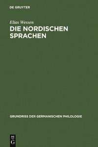 Cover Die nordischen Sprachen