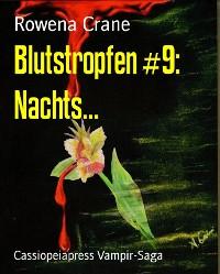 Cover Blutstropfen #9: Nachts...