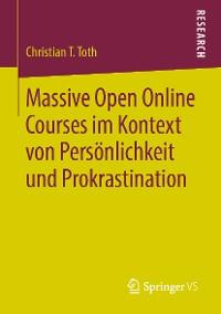 Cover Massive Open Online Courses im Kontext von Persönlichkeit und Prokrastination