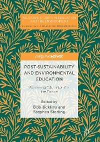 Cover Post-Sustainability and Environmental Education
