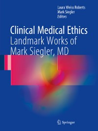Cover Clinical Medical Ethics