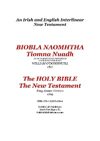 Cover Tiomna Nuadh, The New Testament