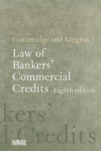 Cover Gutteridge and Megrah's Law of Bankers' Commercial Credits