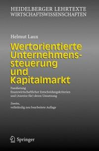 Cover Wertorientierte Unternehmenssteuerung und Kapitalmarkt