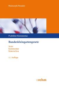Cover Bundeskleingartengesetz