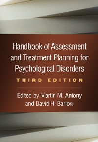Cover Handbook of Assessment and Treatment Planning for Psychological Disorders, Third Edition