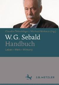 Cover W.G. Sebald-Handbuch