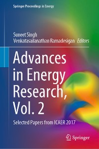 Cover Advances in Energy Research, Vol. 2
