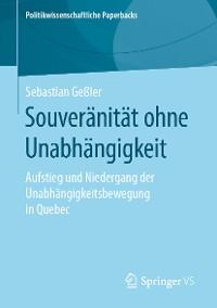 Cover Souveränität ohne Unabhängigkeit