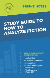 Cover Study Guide to How to Analyze Fiction