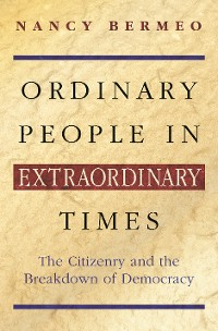 Cover Ordinary People in Extraordinary Times