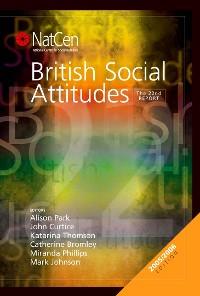 Cover British Social Attitudes
