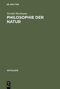 Cover Philosophie der Natur