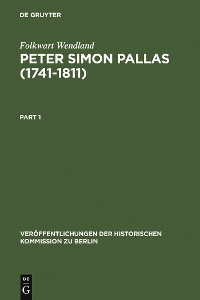 Cover Peter Simon Pallas (1741-1811)