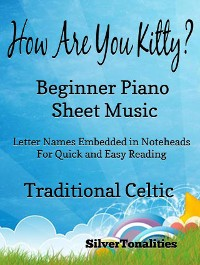 Cover How Are You Kitty Beginner Piano Sheet Music