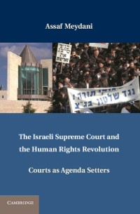Cover Israeli Supreme Court and the Human Rights Revolution