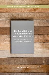 Cover The Non-National in Contemporary American Literature