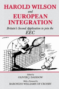 Cover Harold Wilson and European Integration