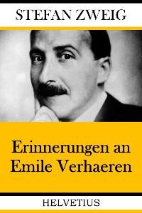 Cover Erinnerungen an Emile Verhaeren
