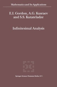 Cover Infinitesimal Analysis